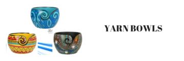 Yarn Bowls en garen schalen
