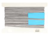paspelband elastisch dubbelzijdig 10 mm, diverse kleuren, per meter