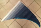 Patroon: Watervalsjaal van Unikat garen