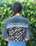 Patroon tutorial, Shrug vest Benthe, scheepjes Skies Light katoen