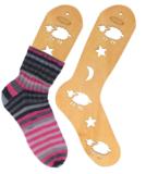 Houten sockblockers per paar, diverse maten