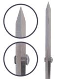 Opry Schaar roestvrij staal 20,5 + 12,5cm grijs