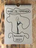 Durf te Tekenen kalender 2021