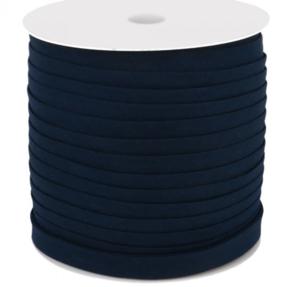 Dox Biaisband katoen 14mm blauw - 150 meter