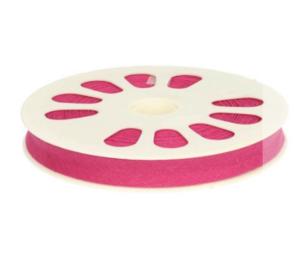 Dox biaisband katoen rol van 20 meter 12 mm breed, 767 roze