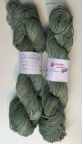 Handgeverfd garen Softfun, 50 gram, groen kleurnr 4