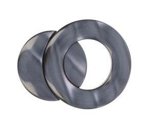 Magnetische vestsluiting grijs