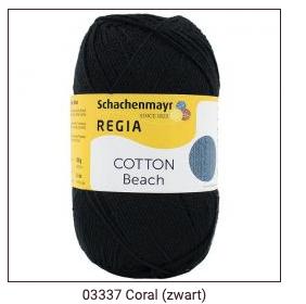 Regia coton sokkengaren, sokkengaren ZONDER wol. OP = OP Denim, Beach