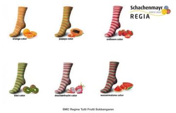 SMC Regina Tutti Frutti Sokkengaren, sokkengaren zonder wol!