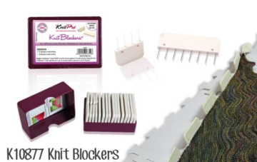 Knitpro Knit Blockers wit