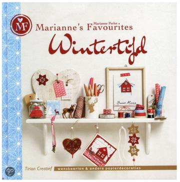 Wintertijd wenskaarten en andere papierdecoraties