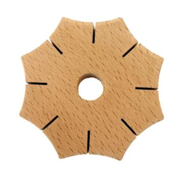 Knoopster van hout