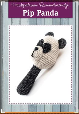 Patroon Pip Panda,  Annemarie Arts Haakidee