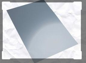 Spiegelfolie voor amigurumi