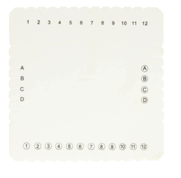Kumihimo disc loom vierkant 15 cm