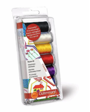 Gutermann Machineborduurgaren set Rayon 40 Creative