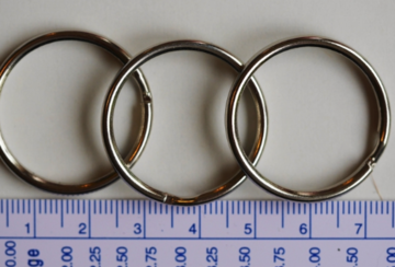 Sleutelring 30 mm per stuk