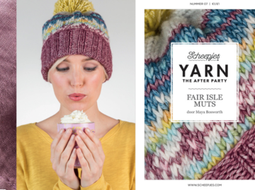 Scheepjes Yarn the afterparty 07 Fair Isle muts door Maya Bosworth