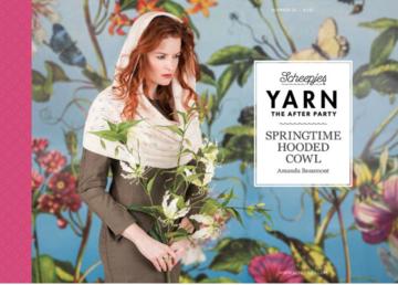 Scheepjes Yarn the afterparty 26 Springtime Hooded Cowl door Amanda Beaumont