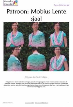 Patroon: Mobius Lente sjaal