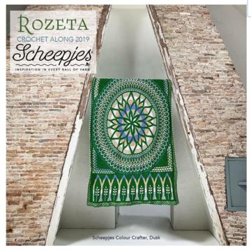 Scheepjes CAL 2019 Rozeta Colour Crafter Dusk (leverdatum rond 30 september)
