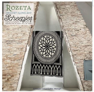 Scheepjes CAL 2019 Rozeta Colour Crafter midnight (leverdatum rond 30 september)
