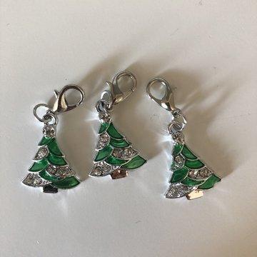 Stekenmarkeerder kerst kerstboom