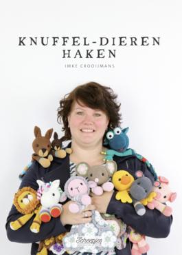Boek Knuffel-Dieren Haken van Imke Crooijmans van Creimtion 2e druk!