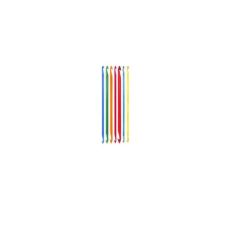 KnitPro Trendz Dubbelzijdige Tunische haaknaald 6.0mm, 30 cm