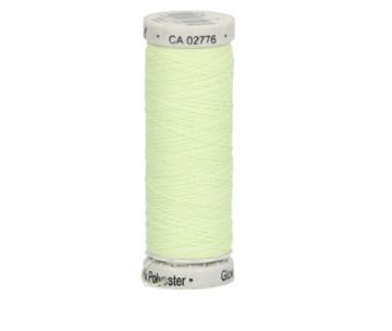 Gutermann Sulky glowy 40 kleur 7, licht groen, glow in de dark naaigaren