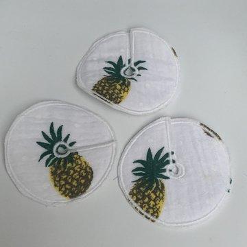 Sondepad hydrofiel wit met ananas