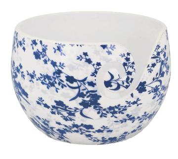 Scheepjes Yarn bowl Onbreekbaar Blue Leaf