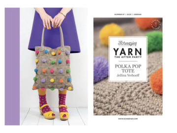 Yarn the afterparty nr 97: Polka pop tote tas NL
