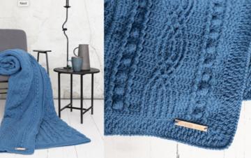Haakplein CAL2020 Twisted Haakpakket van DMC Knitty 4 - blauw  VOORORDER
