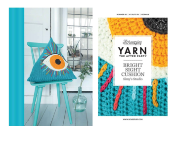Yarn the afterparty nr 82: Bright Sight Cushion NL