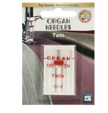 Organ Needles Tweelingnaald 100/6