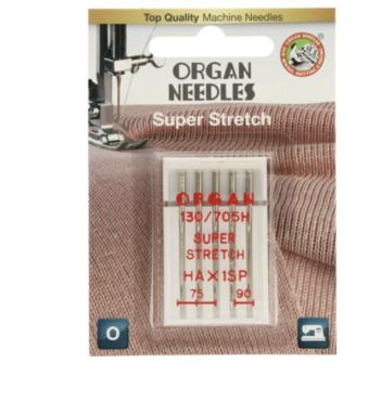 Organ Needles 5 super stretch naalden 75/90