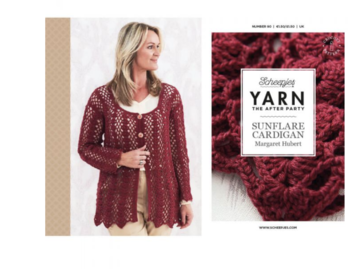 Yarn the afterparty nr 90: Sunflare Cardigan - Margaret Hubert