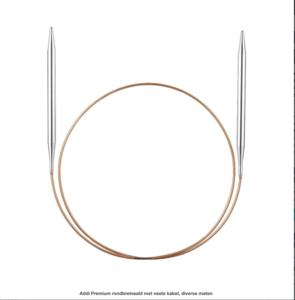 Addi Premium rondbreinaald met vaste kabel, diverse maten