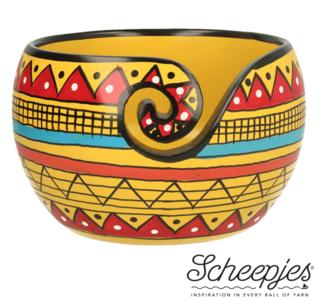 Beschilderde Yarn Bowl Scheepjes