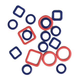 KnitPro Metalen Stekenmarkeerders