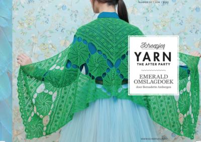 Scheepjes Yarn the afterparty 03 Emerald omslagdoek door Bernadette Ambergen Nederlands