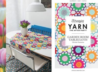 Scheepjes Yarn the afterparty 11 Garden room Tablecloth door Christa Veenstra