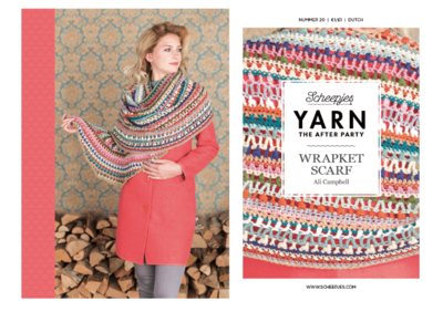 Scheepjes Yarn the afterparty 20 Wrapket scarft door Ali Campbell