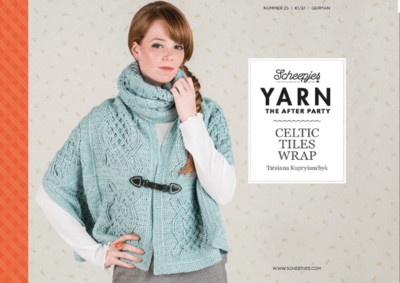 Scheepjes Yarn the afterparty 25 Celtic Tiles Wrap door Tatsiana Kupryianchyk