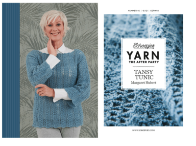 Scheepjes Yarn the afterparty 40 Tansy Tunic door Margaret Hubert