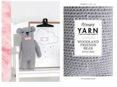 Scheepjes Yarn the afterparty 37 Woodland Friends Bear door Nerissa Muijs