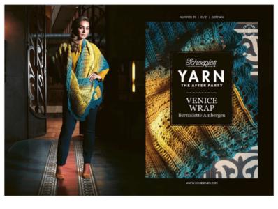 Scheepjes Yarn the afterparty 39 Venice Wrap door Bernadette Ambergen
