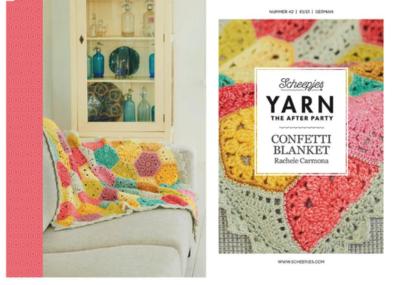 Scheepjes Yarn the afterparty 42 Confetti Blanket door Rachele Carmona