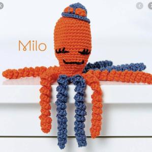 Anchor octopus kit Milo